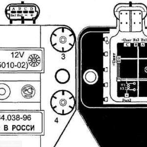 Общая схема модуля зажигания ВАЗ 2112