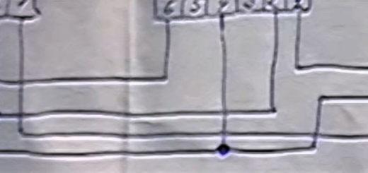 Часть схемы божья искра на ВАЗ-2112