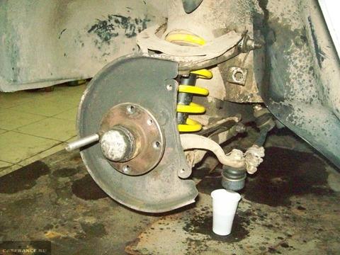 Демонтируем колесо с ВАЗ-2112