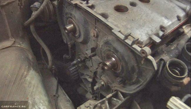 Сняли механизм грм ВАЗ-2112