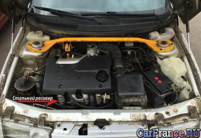 Стальной ресивер двигателя ВАЗ-2112