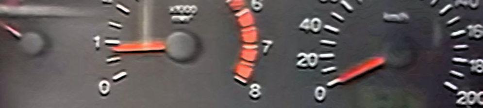 Показания тахометра на малых оборотах ВАЗ-2112