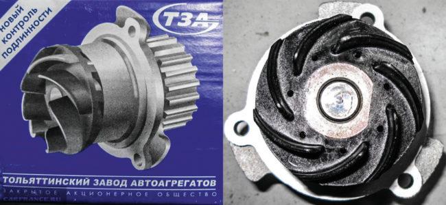 Помпа ТЗА для ВАЗ-2112
