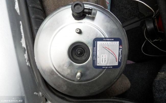 Вакуумный усилитель тормозов ТоргМаш на ВАЗ-2112