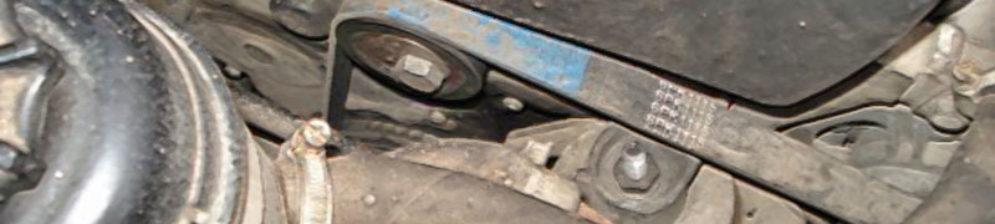 В процессе замены ремня генератора на ВАЗ-2112