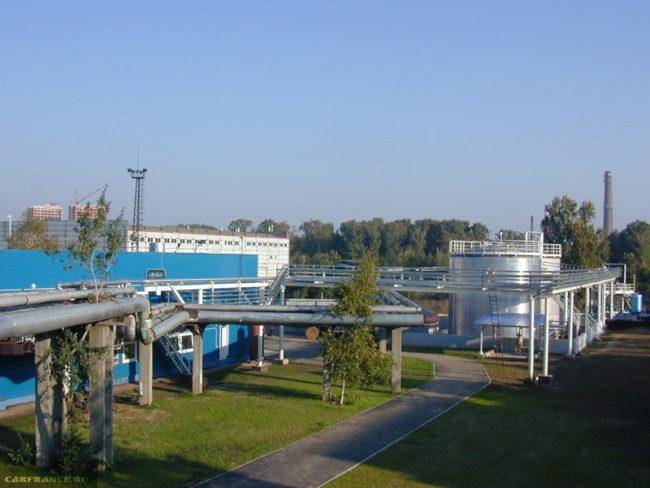 Завод Техноформ по производству охлаждающих жидкостей для автомобилей Лада