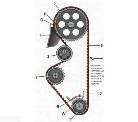 Схема ВТМ ВАЗ-2114