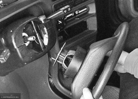 Снимаем рулевое колесо ВАЗ 2114