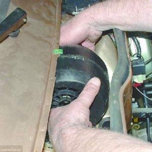 Демонтаж моторчика ВАЗ 2114