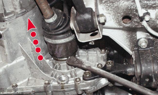 Демонтаж внутреннего ШРУСа ВАЗ-2114