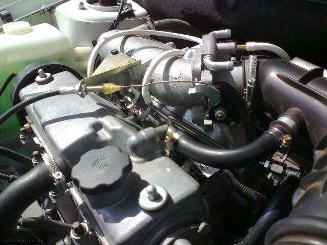 Двигатель 11183 без Е Газа
