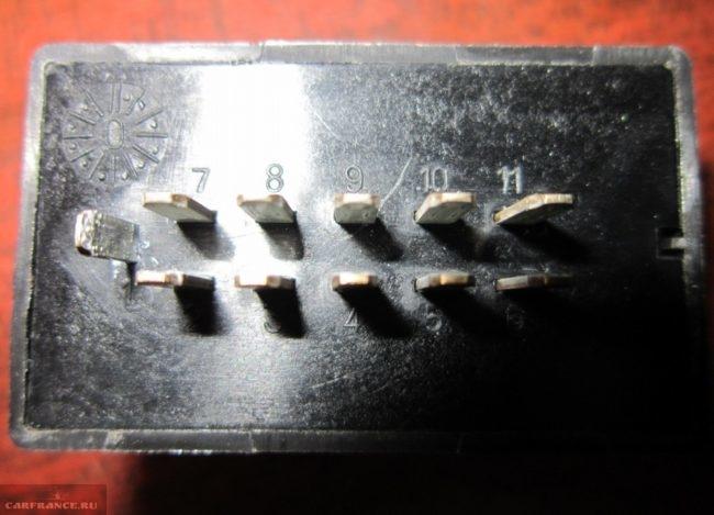 Реле исправности ламп ВАЗ 2112