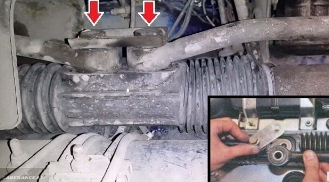 Рулевая рейка с тягами ВАЗ-2112