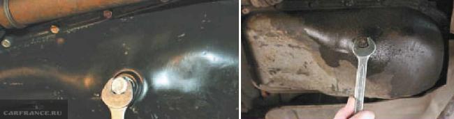 Сливная пробка двигателя ВАЗ 2114