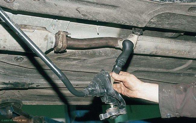 Кулиса с переключателем передач ВАЗ-2112 в сборе