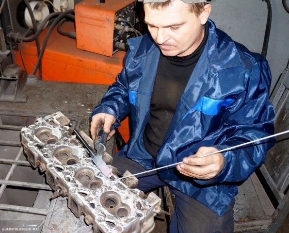 Реставрация ГБЦ ВАЗ 2112