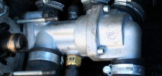 Термостат на автомобиле ВАЗ-2114