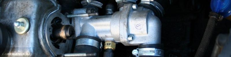 Термостат ВАЗ 2114-2115 признаки неисправностей и замена термостата