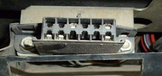 Диагностическая колодка ВАЗ-2112