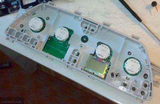 Замена лампочек подсветки на ВАЗ-2112