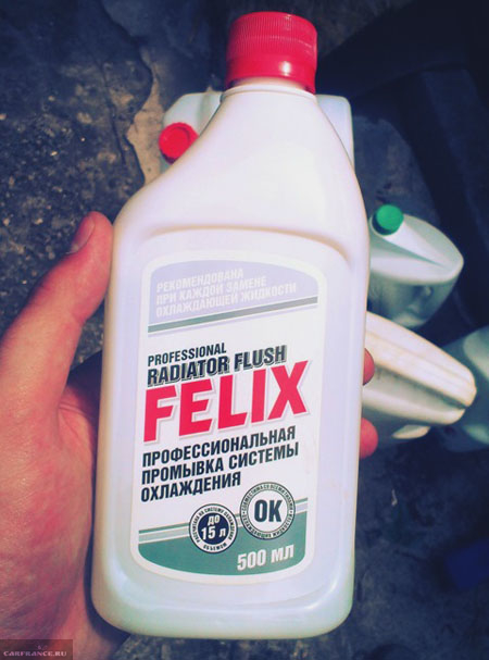 Жидкость для промывки Felix для двигателя ВАЗ-2114