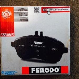 Упаковка тормозных колодок на ВАЗ-2112 Ferodo Premier