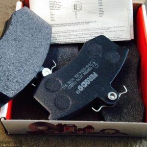 Вынимаем тормозные колодкм на ВАЗ-2112 Ferodo Premier