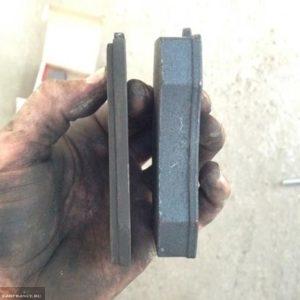 Сравнение тормозных колодок Ferodo Premier с стоковыми на ВАЗ-2112