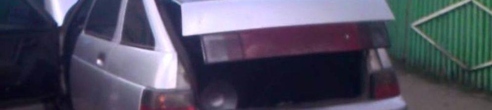 Открытый багажник ВАЗ-2112