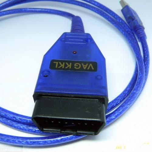Кабель VAG для подключения к ЭБУ ВАЗ-2112