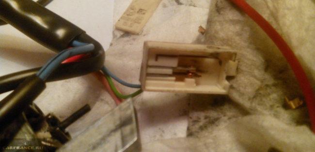 Поломка качелей замка зажигания на ВАЗ-2114