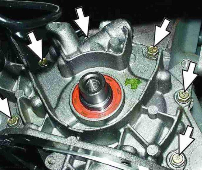 Как провести демонтаж масляного насоса ВАЗ-2112