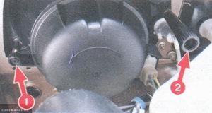 Рычаги для регулировки фары ВАЗ-2114