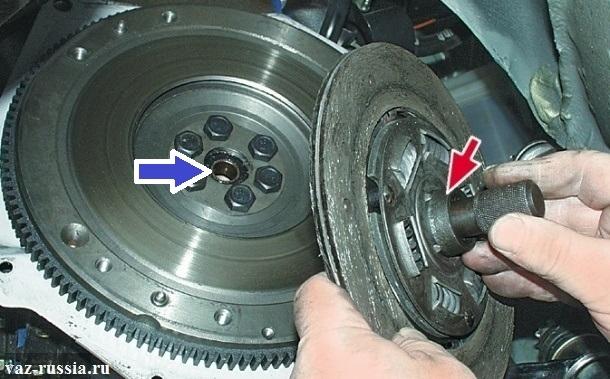 Оправка сцепления ВАЗ-2112