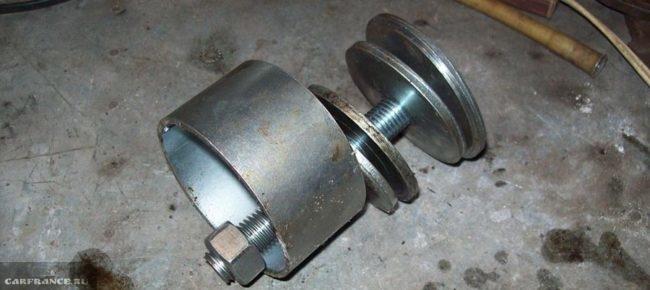Изготовление съёмника ступицы на ВАЗ-2112