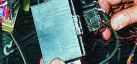 Отключение разъёма с иммобилайзера на ВАЗ-2112