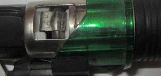Прикуриватель на ВАЗ-2112 в разрезе