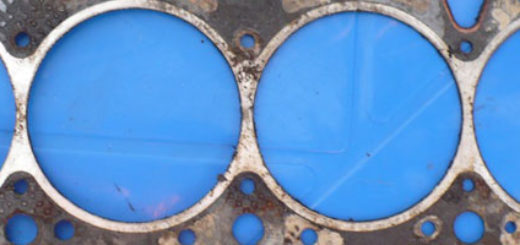 Прокладка ГБЦ на ВАЗ-2114 вблизи
