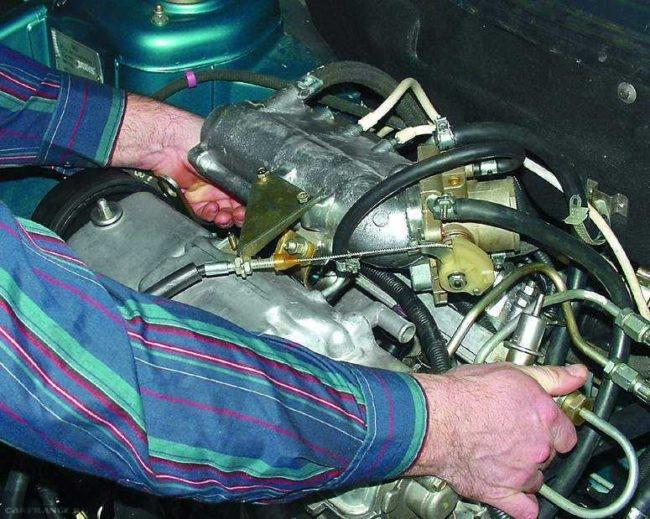 Поочерёдное отключение форсунок на двигателе ВАЗ-2114