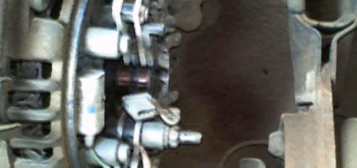 Проверка работы щёток генератора на ВАЗ-2114