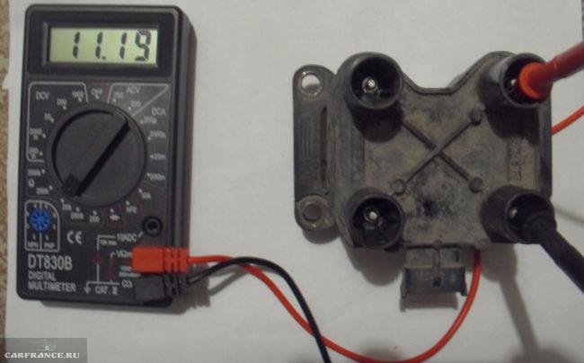 Проверка катушки зажигания на ВАЗ-2114