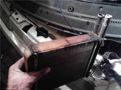 Радиатор отопителя ВАЗ-2114