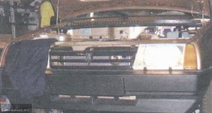 Регулировка света левой фары ВАЗ-2114