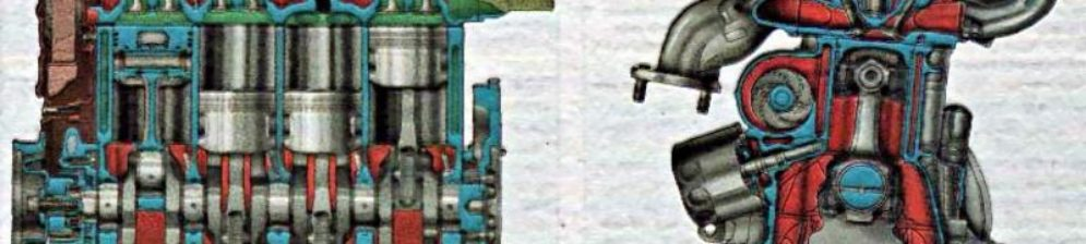 Схема 16-ти клапанного двигателя ВАЗ-2112