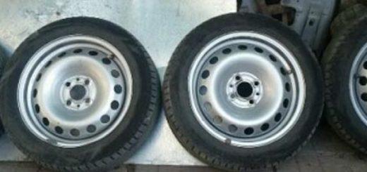 Штампованные диски с стандартной разболтовкой на ВАЗ-2112 15 радиуса