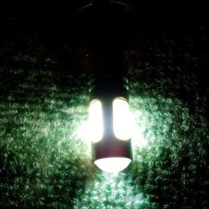 Свет светодиодной ПТФ на ВАЗ-2114