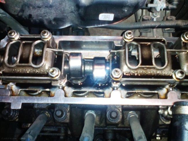 Течь из клапанной крышки на ВАЗ-2114