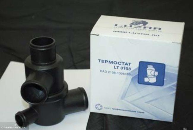 Китайский термостат LT 0108 Лузар с упаковкой