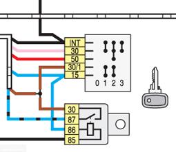 Схема устройства замка зажигания ВАЗ-2114