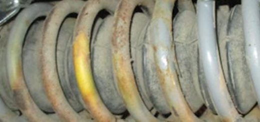 Использование стяжки пружин для установки новых задних стоек на ВАЗ-2114